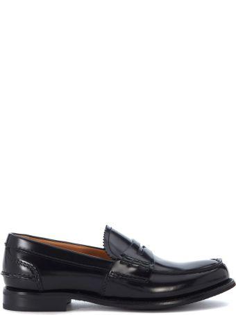 Church's Pembrey Black Leather Loafer