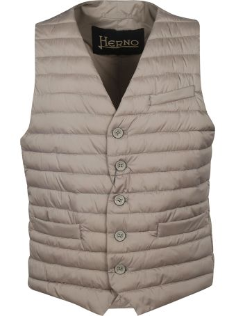 Herno Buttoned Padded Gilet