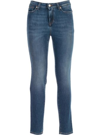 Versace Collection Jeans Skinny W/studs