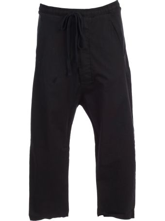 Thom Krom Cropped Jogging Trousers