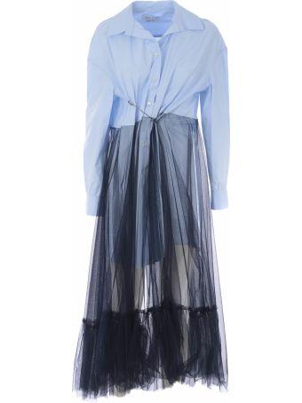 Act n.1 Act N°1 Safety Pin Detailed Dress