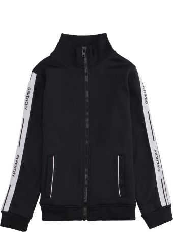 Givenchy Techno Fabric Full-zip Sweatshirt