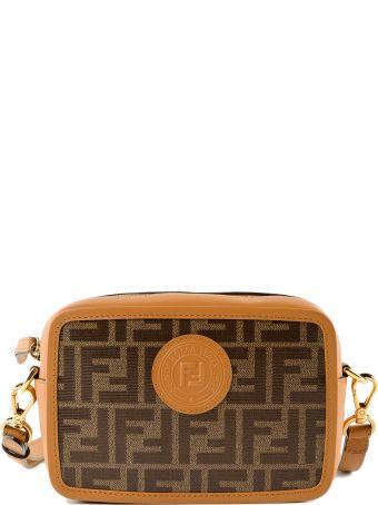 Fendi Double F Mini Shoulder Bag