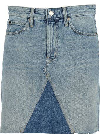 Calvin Klein Jeans Short Denim Skirt