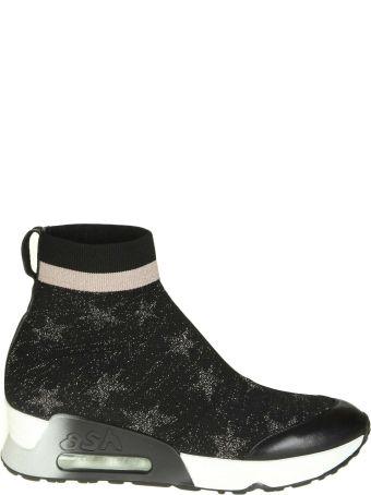 "Ash Sneakers ""lulla Star"" In Fabric Color Black"