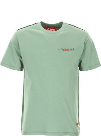 032c T-shirt With Print And Embroidery