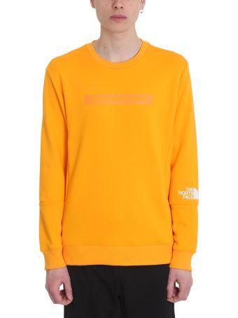 The North Face Crew Orange Cotton Sweatshirt