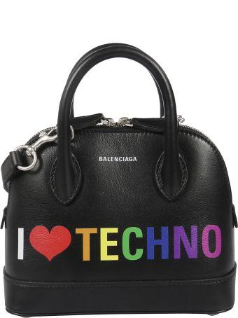Balenciaga Extra Extra Small I Love Technoville Tote
