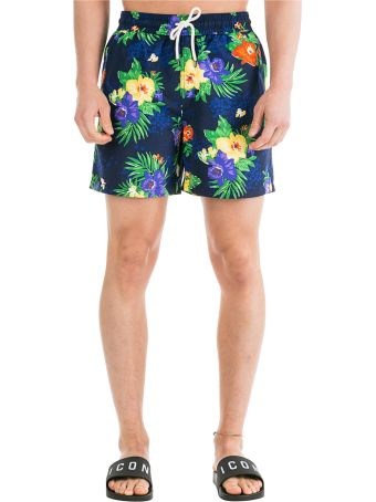 Ralph Lauren  Boxer Swimsuit Bathing Trunks Swimming Suit