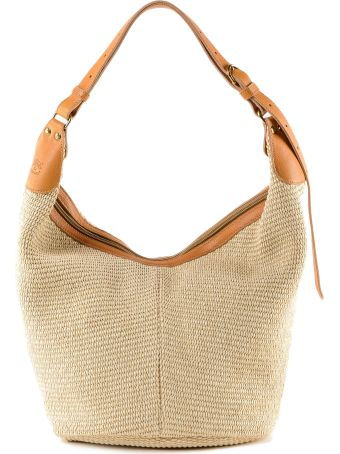Il Bisonte Woven Shoulder Bag