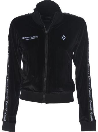 Marcelo Burlon Zipped Sweatshirt