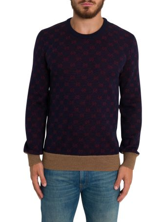 Gucci Gg Jacquard Motif Sweater