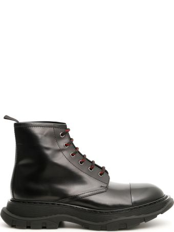 Alexander McQueen Lace-up Boots