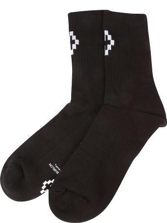 Marcelo Burlon Cross Short Socks