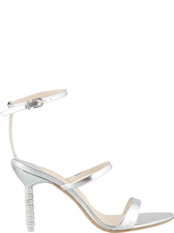 Sophia Webster Rosalind Crystal Mid Pump Sandals