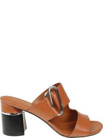 3.1 Phillip Lim Phillip Lim Alix Sandal In Leather Cognac Color