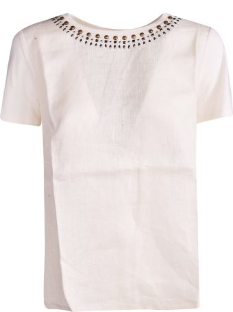 Weekend Max Mara Stud Detailed Top