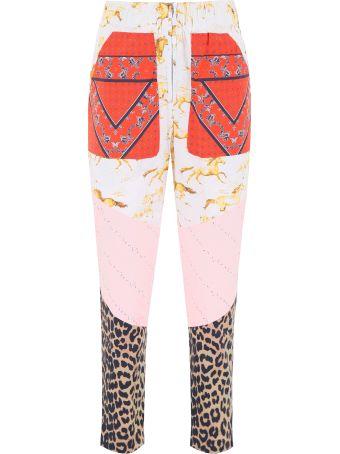 Ganni Multi Print Trousers