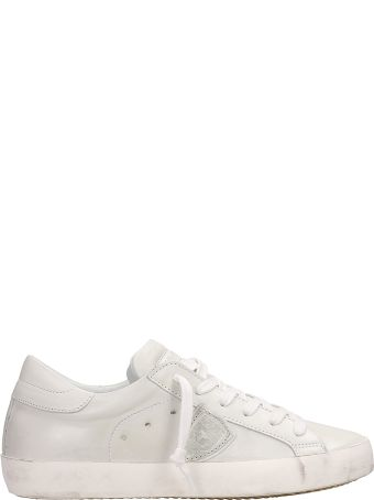 Philippe Model Paris White Sneakers