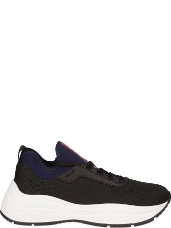 Prada Linea Rossa Shoes Lace-up Sneakers