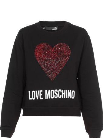 Love Moschino Cotton Sweateshirt