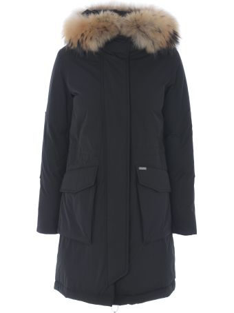 Woolrich Feathered Detail Down Parka