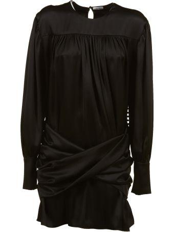Magda Butrym Frayed Chest Dress