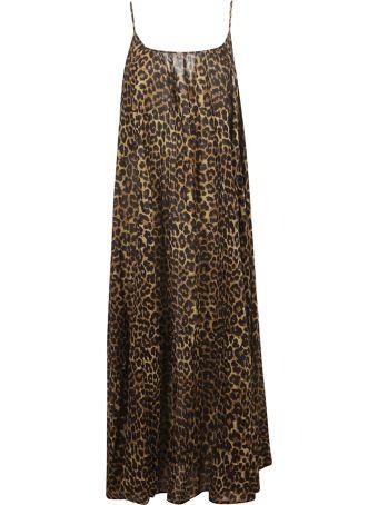 Mes Demoiselles Leopard Print Dress
