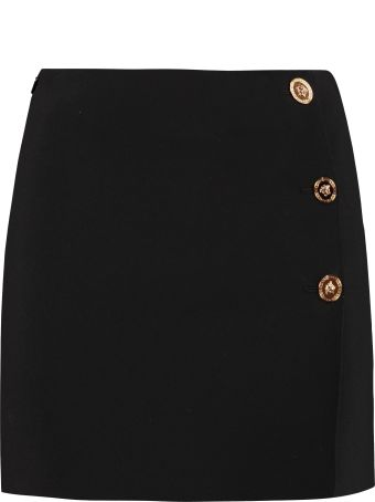 Versace Knitted Mini Skirt
