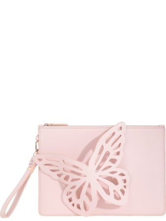 Sophia Webster Flossy Butterfly Clutch