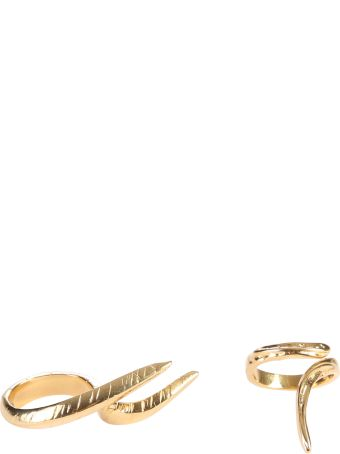 Givenchy Set Of Two Brass Rings