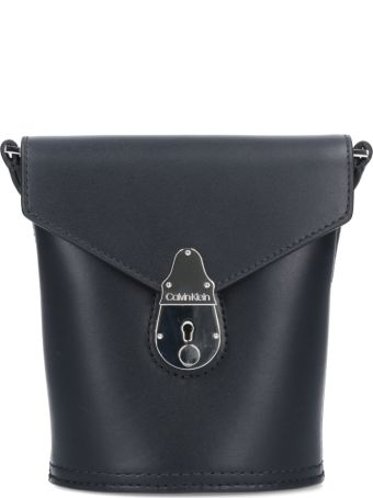 Calvin Klein Lock Micro Bucket Bag