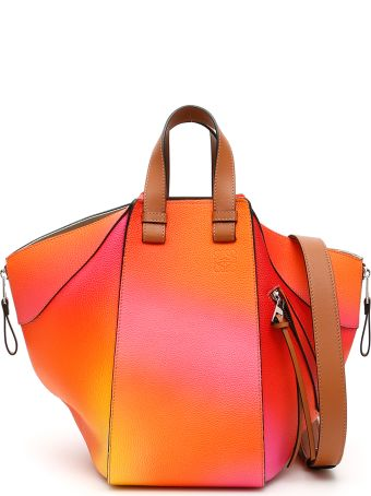 Loewe Multicolor Leather Hammock Bag
