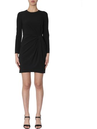 Boutique Moschino Dress With Draped Detail