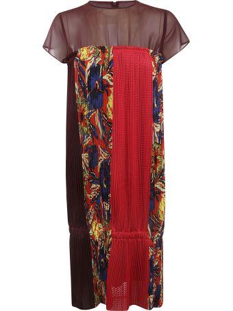 Zucca Flower Pleats Dress
