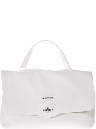 Zanellato Tote Bag In White Leather