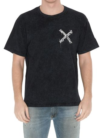 REPRESENT Destroyed Logo T-shirt