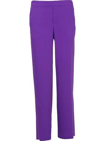 Parosh High-waisted Trousers