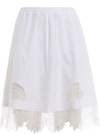 Ermanno Scervino Embroidered Mini Skirt
