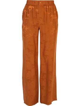 Ganni Printed Trousers