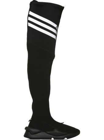 Y-3 Stretch Knit Over-the-knee Boots