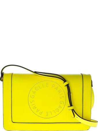 Gaelle Bonheur Perforated Logo Shoulder Bag