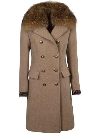 Bazar Deluxe Fur Collar Coat