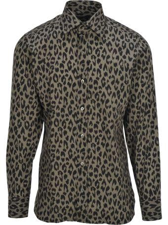 Tom Ford Tom Ford Leopard Print Shirt