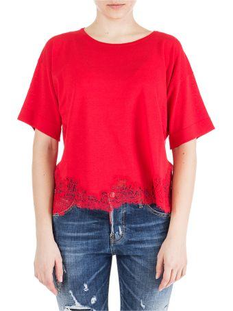 Ermanno Ermanno Scervino  T-shirt Short Sleeve Crew Neck Round
