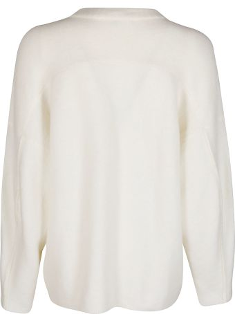 3.1 Phillip Lim White Wool-alpaca Blend Jumper