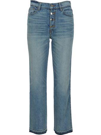 AMIRI Glitter Track Straight Jeans