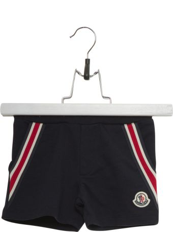 Moncler Shorts With Striped Bands