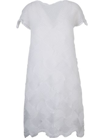Issey Miyake Flared Dress