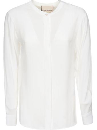 Erika Cavallini Mandarin Collar Shirt